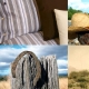 Juego sábanas algodón 3 pzs Sedona Hudson River