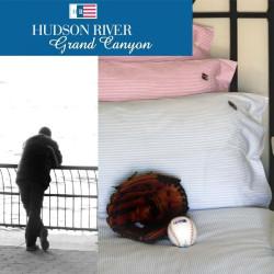 Juego sábanas algodón 3 pzs Grand Canyon Hudson River
