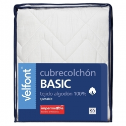 Cubrecolchón Velfont Basic Impermeable