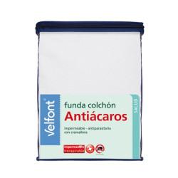 Funda Colchón Velfont Antiácaros Impermeable
