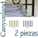 Juego de sábanas largo especial 2 piezas Canyoland Hudson River