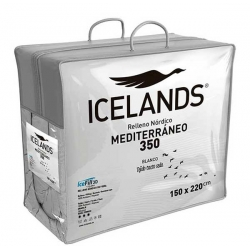 Relleno Nórdico Icelands Mediterráneo 350 Blanco