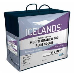 Relleno nórdico Icelands Mediterráneo Plus Color
