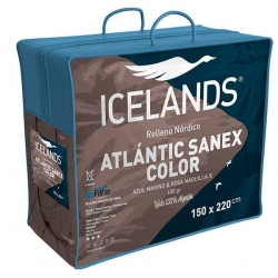 Relleno nórdico Icelands Atlantic Sanex color