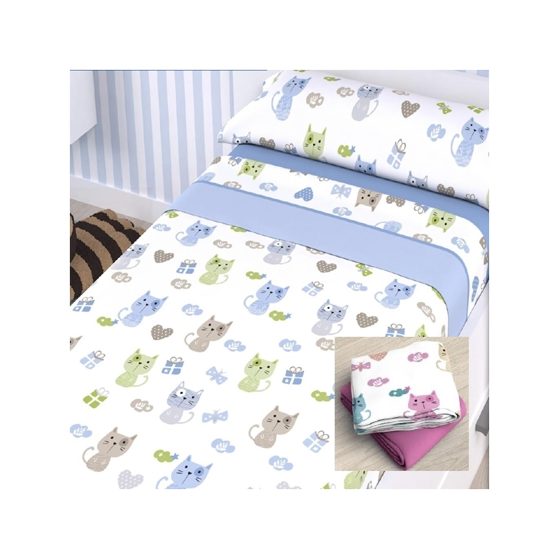Juego sábanas infantiles - Ropa de cama infantil - Moda Tena
