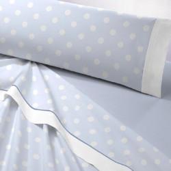 juego de sabanas franela alison textil as burgas azul