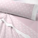 juego de sabanas franela alison textil as burgas rosa