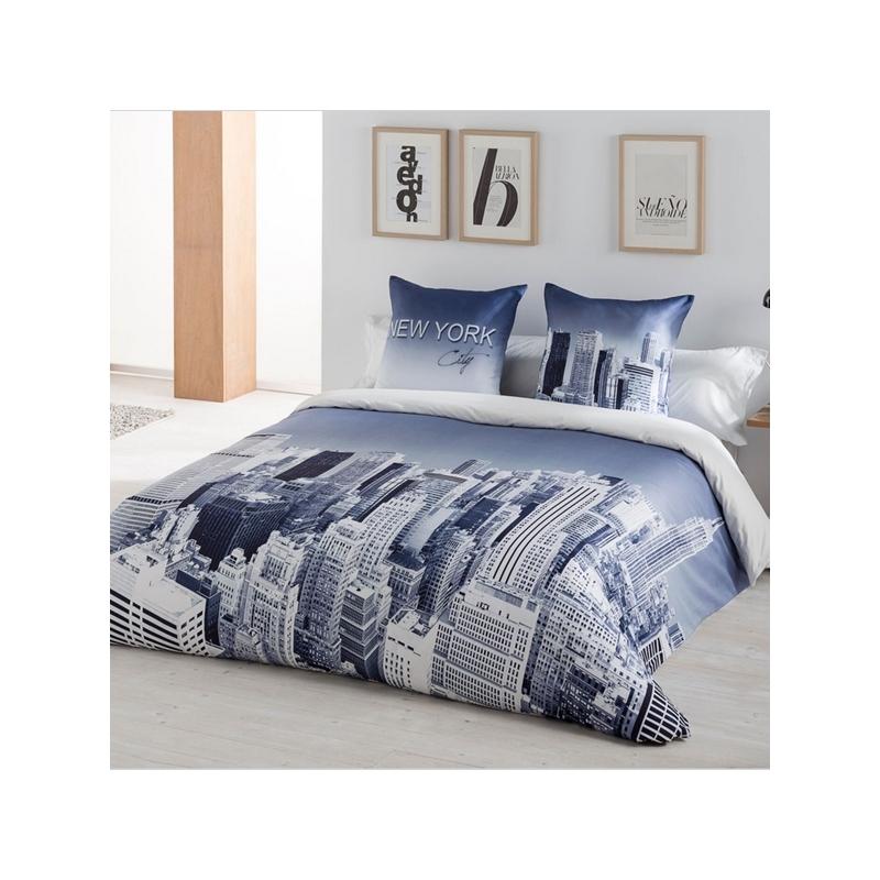 Funda nórdica 3 pzs New York Jvr   Nórdicos para vestir tu cama
