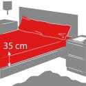 Juego de sábanas largo 190/200 cm - 3 PZS