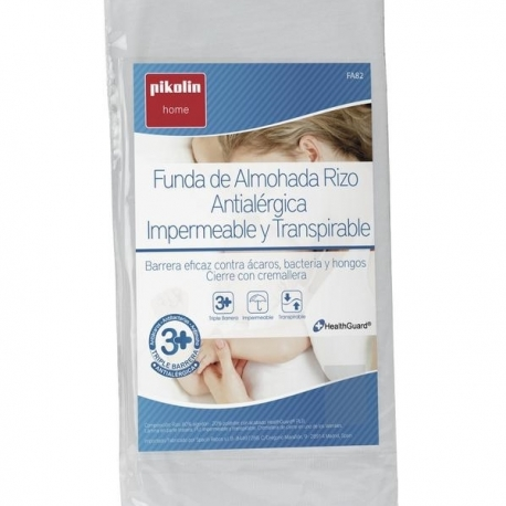 Funda Almohada Antialergénica Transpirable e Impermeable Pikolin