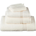 Toallas 100% algodón 700 gr Supima Risart crema
