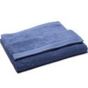 Toallas 100% algodón orgánico 570 gr Risart azul