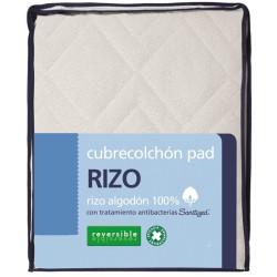 Cubrecolchón 500010 Pad Rizo Reversible