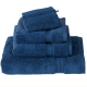 Toallas 100 algodón 700 gr Supima Risart azul medio