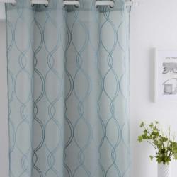 cortina fundeco cristel azul