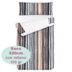 Saco ajustable 100 gr Stripes largo 220 cm