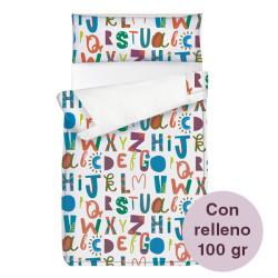 Saco ajustable 100 gr Alphabet largo 190/200