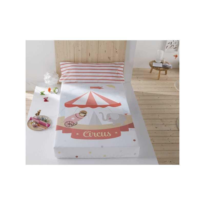 Juego de sábanas Circo Confecciones Paula