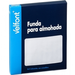 Funda Almohada Raso Labrado Velfont