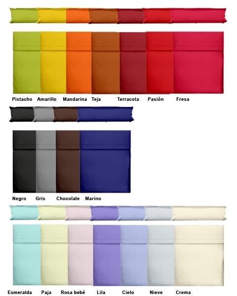 Colores sábnas largo especial textil bages